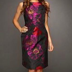 NWT Tahari ASL Aliza Fuchsia Dress